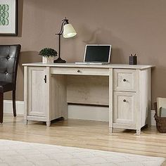 Edge Water Computer Desk by Sauder Woodworking is now available at American Furniture Warehouse. Shop our great selection and save!