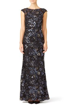 Rent Midnight Swirl Gown by Badgley Mischka for $100 only at Rent the Runway.