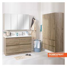Colectia pentru baie Astor este definita de functionalitate si estetica. Realizata din PAL melaminat, colectia Astor va amenajeaza baia intr-un mod natural si organizat. Astfel, va asigurati ca in baia voastra este suficient spatiu pentru depozitare si un decor pe masura nevoilor din incapere. #baie #mobexpert #mobilier Bathtub, Bathroom, Standing Bath, Washroom, Bath Tub, Bathtubs, Bathrooms, Bath