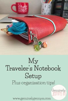 I've had a lot of people ask, so I thought I'd FINALLY do a blog post on my traveler's notebook setup! A while back, I did a blog post on how and why I switched into traveler's notebook for my planning. It's been almost 3 months and I'm still just as obsessed with my notebook …