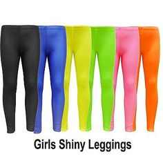 Girls footless dance #tights leggings #nylon kids gymnastic #shiny legging 7-13 y,  View more on the LINK: 	http://www.zeppy.io/product/gb/2/262441667953/