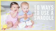 Announcing the What's Up Moms Swaddle & 10 Ways to Use It!!
