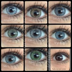 Desio Luxury Color Contact Lenses.