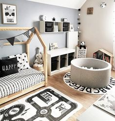 Awesome Home Decoration Ideas Baby Room Design, Baby Boy Rooms, House Rooms, Home Interior Design, Room Inspiration, Decoration, Kids Room, Toddler Bed, Furniture
