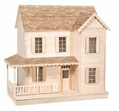 Melissa & Doug The House That Jack Built - Robinette by Melissa & Doug. $229.95. Milled clapboard siding. Pre-assembled components (doors, windows, stairs, railings). Grooved construction for easy assembly and precise fit. Precut trim with period details. Cabinet grade, birched-faced Plywood. Over two feet wide, this adorable cottage has two floors of living space and a full attic to decorate. A wrap-around porch, shutters for the windows and gingerbread trim provide exte...