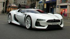 Citroen GT,  saw this one in Paris in very nice Citroen show room together with another citroen concepts. Even this is frech car, at least design is cool
