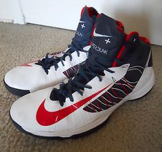 Nike Hyperdunk+ Olympic USA 2012 Red White Blue 524948-100 Basketball Shoes 14
