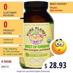 Pure Planet #PurePlanet #Superfoods #GreensFormulas