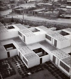 Architecture of Doom: Photo Gothic Architecture, Contemporary Architecture, Architecture Design, Casa Patio, Walter Gropius, Social Housing, Courtyard House, Urban Design, House Design
