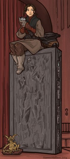 khallion, ...to Find a Way Out! Awesome star wars haunted mansion Mashup