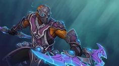 Anti-Mage: Acolyte of Vengeance  Wallpaper, more: http://dota2walls.com/anti-mage/anti-mage-acolyte-of-vengeance-wallpaper