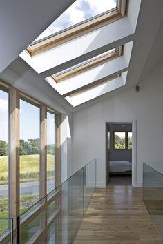 Gleneagels Eco House Atrium- SIPS Self build AC Architects www.acarchitects.biz