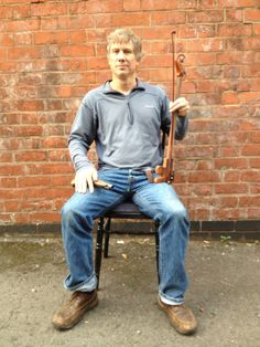 Peter Duncan who is playing Charlie Peace recreating his characters pose