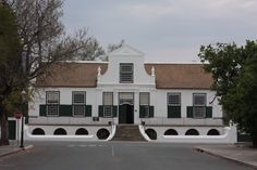 Reinet House, Parsonage Street, Graaff-Reinet Cape Dutch, Dutch House, Dutch Colonial, Colonial Architecture, Cape Town, South Africa, Holland, Around The Worlds, Mansions