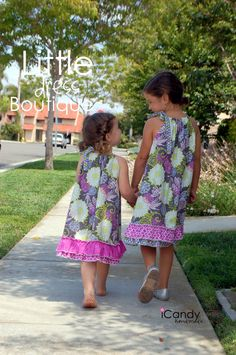 Little Dress Boutique - Easy to make dresses for little girls!