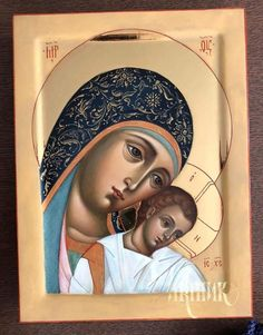 Mary Mother of Jesus Religious Images, Religious Icons, Religious Art, Gold Work, Orthodox Icons, Blessed Mother, I Icon, Love Images, Christian Art