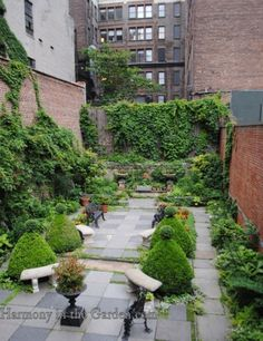 Merchant House Museum, East Village, NYC Photo Credit:  Harmony in the Garden Blog