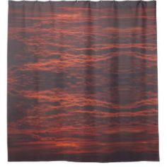 Shop Shower Curtain - Sunset - Sunrise Clouds created by Personalize it with photos & text or purchase as is! Photography Gifts, Sunrise, Clouds, Curtains, Shower, Pictures, Gift Ideas, Holidays, Diy