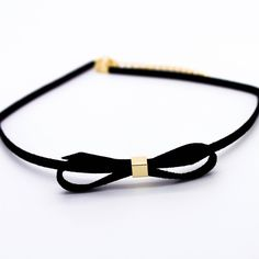 Bow velvet choker necklace