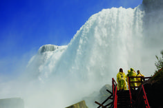 Where else can you get this close to Niagara Falls? #BucketList