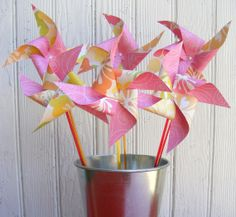 Bouquet of 6 Citron Hibuscus Paper by BakerStPaperGoods on Etsy, SOLD OUT