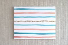 watercolor paintings stripes - Google Search