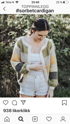 Sorbet, Mille, Pullover, Knitting, Sweaters, Fashion, Flower, Moda, Tricot