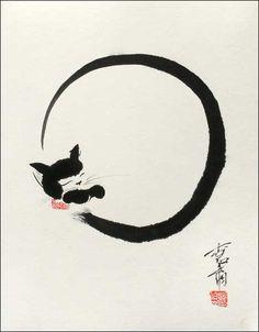 """Moon Cat"" - by Jan Zaremba"