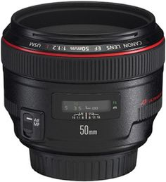 I have the 50mm f/1.4. But, would love the Canon Lens 50mm EF f/1.2L USM