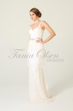 Bohemian wedding styles-Willow dress by Australian designer Tania Olsen