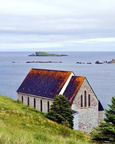 The Old Stone Church - Town Of Ferryland, Newfoundland Photography by Stone Island Photography