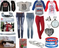 """One Direction Outfit"" totally my sister ! Colee <3"