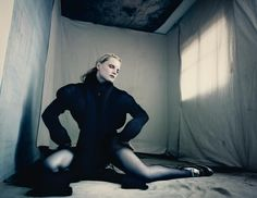 Guinevere Van Seenus & Paolo Roversi always do such dreamy shoots together. Roversi & Guinevere are the autumnal version of Tim Walker & Guinvere's pastel springtime collaborations. Rov...