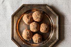 Earl Grey Vanilla Bean Truffles Two Ways - substitute coconut milk for cream