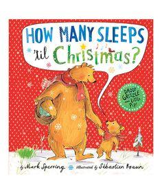Love this How Many Sleeps 'til Christmas Hardcover!