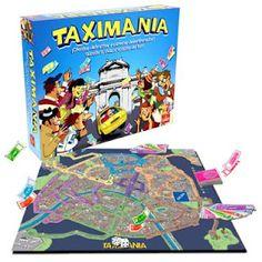 Taximanía, juego de mesa para toda la familia.