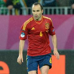 Spanish midfielder Andres Iniesta was named player of Euro 2012 on Monday by European football governing body UEFA.