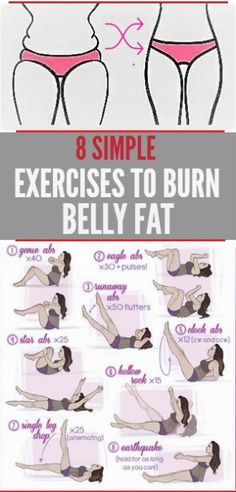 8 Simple Exercises To Burn Belly Fat – Remedies Guide