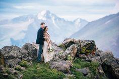 Jessica & Edward • Rocky Mountain National Park Elopement • Estes ...