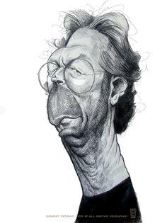 [ Eric Clapton ]  - artist: Ernesto Priego - website: http://dibustracion.blogspot.com/