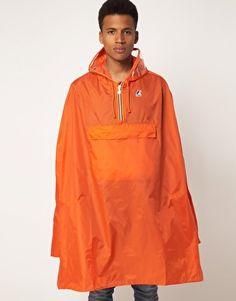 K-Way smock cagoule in orange Rain Wear, Asos Online Shopping, Latest Fashion Clothes, Smocking, Rain Jacket, Windbreaker, Women Wear, Stylish, Jackets