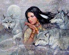Image result for indios y lobos 3d