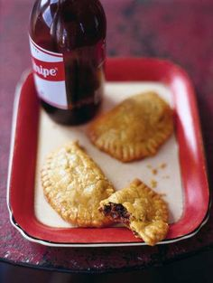 Red Stripe Beer and Patties