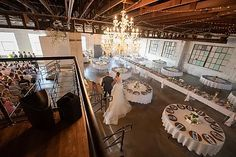 The Brick Ballroom is a wedding venue and event space located in Siloam Springs, Arkansas. One of the largest indoor venues in Northwest Arkansas. Ballroom Wedding, Wedding Reception, Rectangle Table, Round Tables, Siloam Springs, Industrial Wedding Venues, Arkansas, Brick, Table Settings