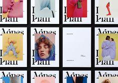 branding for photographer Agnes Lloyd-Platt in London, created by Seachange Studion in New Zealand. Cover Design, Graphisches Design, Layout Design, Design Trends, Design Ideas, Typography Logo, Typography Design, Branding Design, Fashion Graphic Design