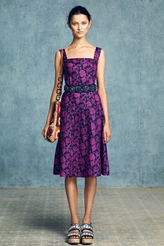 Tory Burch Resort 2013 Fashion Show - Ella Verberne