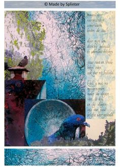 'Belofte' ansichtkaart gemaakt door Saskia Splinter #postcard #art #calligraphy #ansichtkaart #promise