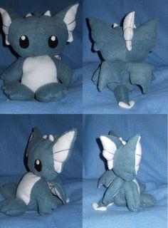 dragon plushie diy - Google Search