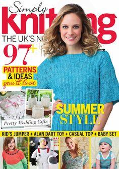 Simply Knitting №147 2016 - 轻描淡写 - 轻描淡写 Dergi