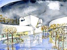 STEVEN HOLL ARCHITECTS - QINGDAO CULTURE AND ART CENTER